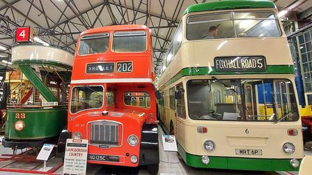Tram and buses at ITM