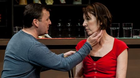Mark Dawson and Jill Priest star in Two at the Abbey Theatre in St Albans.