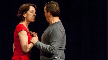 Two opens at the Abbey Theatre in St Albans on Tuesday, June 1.