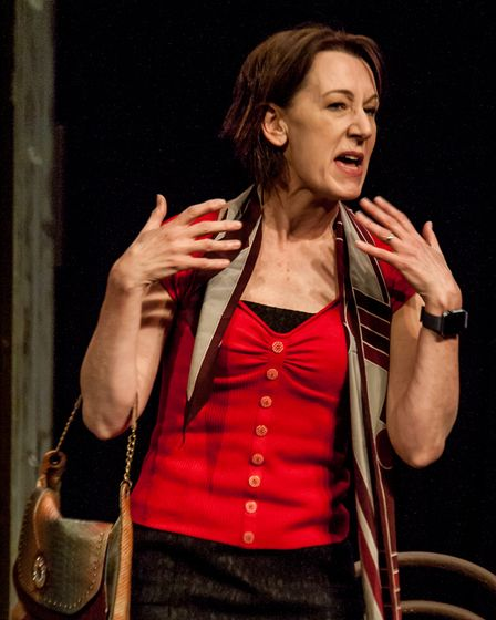Jill Priest stars in Two at the Abbey Theatre in St Albans.