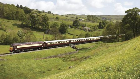 The Northern Belle features 1930s-style Pullman carriages.
