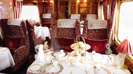 Immerse yourself in luxury with a trip on the Northern Belle.