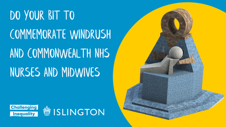 Islington Council fundraising to commemorate Windrush and Commonwealth NHS Nurses and Midwives