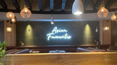 The Asian inspired restaurant offers a wide variety of cocktails too!