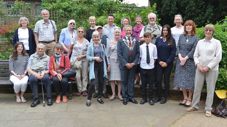 The St Albans Amnesty Group held a tree planting ceremony