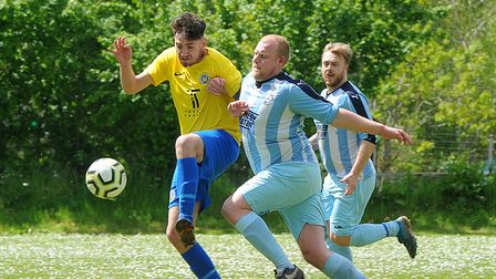 Coast & Country Div 3 Cup- Watts Blake Bearne Res (yellow) 6-3 Newton Abbot '66 Res