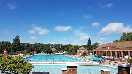 Outdoor pools in Hitchin (pictured) and Letchworth will reopen this Saturday (May 29)