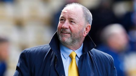 Gary Johnson before the match between Torquay United and Barnet at Plainmoor on Saturday