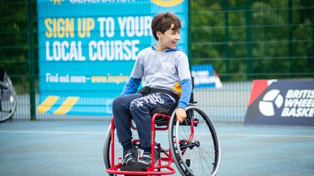 British Wheelchair Basketball Inspire a Generation launch event at Finsb