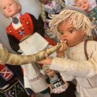 Valentines Mansion in Ilford is exhibiting hand-made dolls from around the world.
