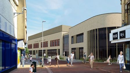 Plans for a new 420-place primary school in Ipswich town centre have been submitted to the council