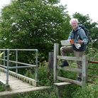 A man on a stile: Peter Cooper