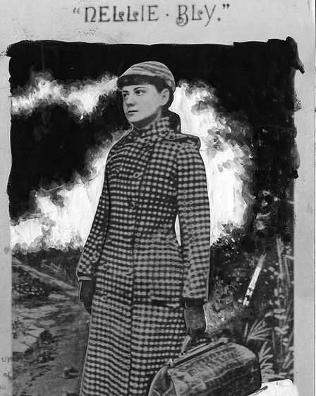 Nellie Bly, courtesy of New York Public Library archives
