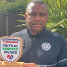 Ray Lee, coach at Chigwell FC, is the Nationwide Mutual Respect Award winner for April 2021.