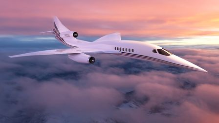NetJets has placed an order for twenty AS supersonic jets