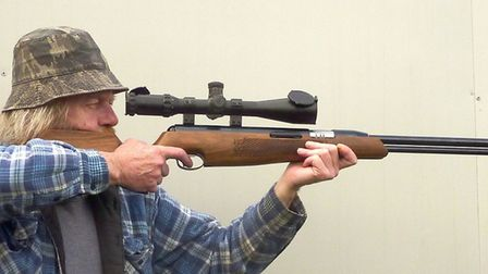 A heavy scope, like this old MTC Viper, raises the centre of gravity of the rifle/scope combo, which