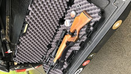 The MTM 42-inch Tactical Rifle Case