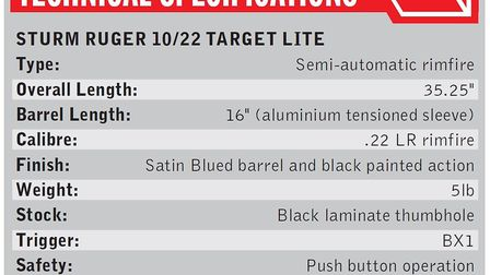 The Ruger (Sturm, Ruger & Co.) 10/22 has to be one of the most successful .22 LR rifles in the worl