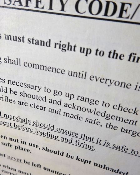 An official safety document makes sense