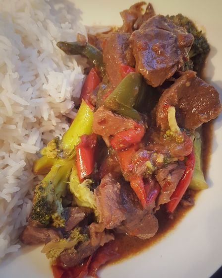 Chinese-style venison stew