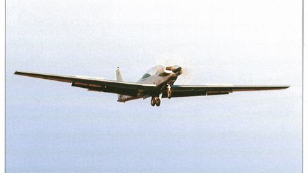 Only one prototype of the all-metal bicycle undercarriage RF8 military trainer was built. The projec