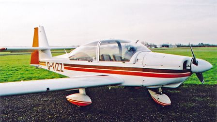 fitted with a big bubble canopy, cruciform tail and 180hp engine, the RS180 was a development of the