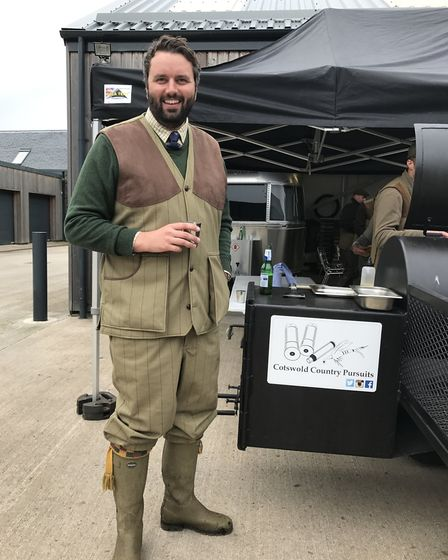 Charles Densham from Cotswold Country Pursuits arranges UK based airgun trips