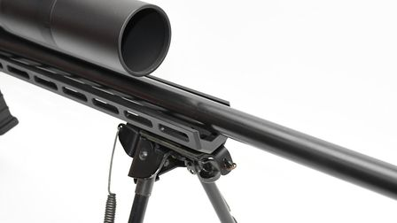 Fully floating barrel with plentiful M-Lock accessory mounting positions