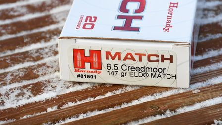 All Hornady ammo shot well but the 157 ELD-M snatched the best group
