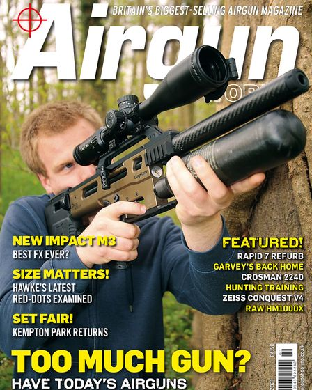 When is the July issue of Airgun World magazine on sale?