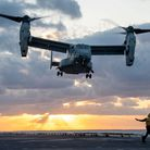 There are more than four hundred V-22 Ospreys in service