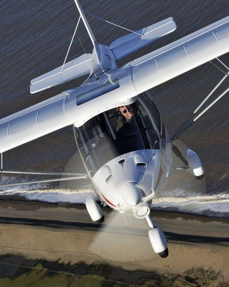 Just arriving on these shores - the C model, latest in the Ikarus C42 series