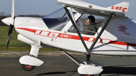 100hp in such a lightweight aircraft delivers an impressively short takeoff and steep climb