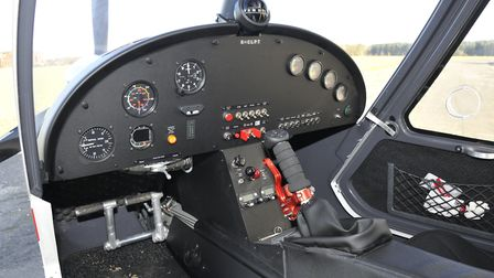Fiitted here with the all the basic anologue instruments you need for Day VFR flight, the C42's pane