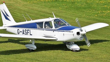 1/3 share in a beautifully maintained classic touring PA28-180 for sale; based at Thruxton, friendly