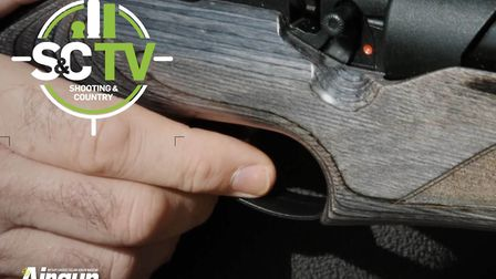 Terry Doe demonstrates excellent trigger technique, explaining how to squeeze that trigger perfectly