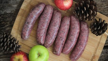 Grouse boar and game sausages