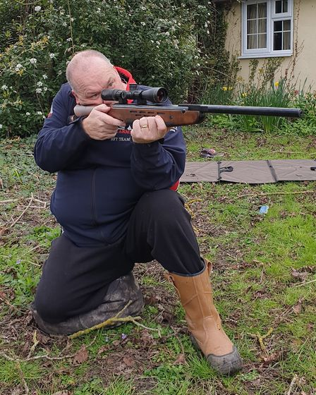 The HW98 is a well balanced ans supremely accurate rifle