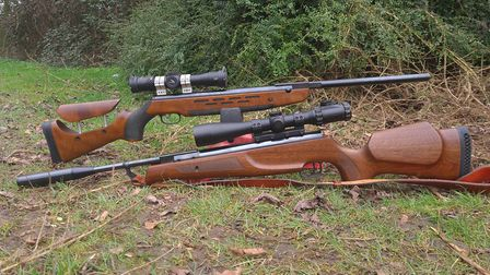The Evolution and the HW98 are two of the most beautiful rifles ever made