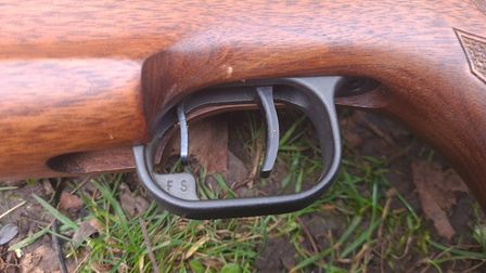 The in trigger safety is a wonderful addition to the Theoben