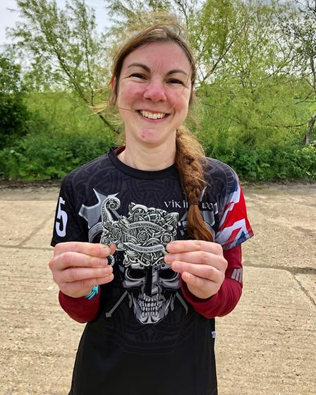 Clair Drage of St Albans Striders