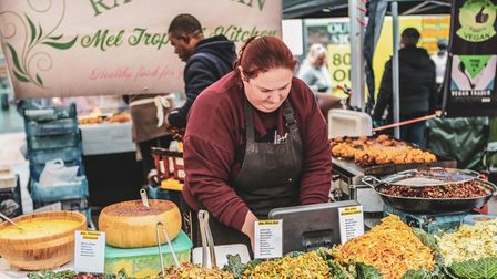 Hitchin Vegan Market will runon the Riverside -adjacent to the regular market - from 10.30am to 4pm on June 12