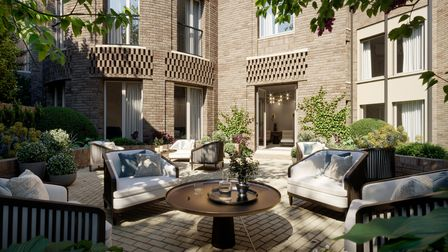 CGI impressions of the new Fitzjohn's development by Lifestory in Hampstead