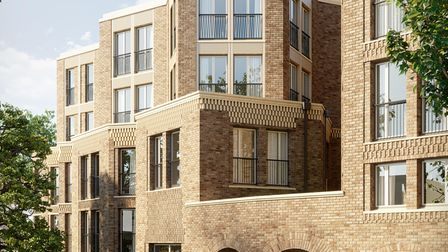 The exterior of the new luxury retirement properties in Fitzjohn's Avenue