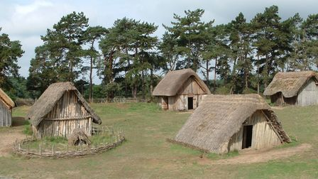 The Anglo Saxon Village at West Stow near Bury St Edmunds