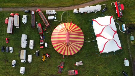 Universal Circus at Great Yarmouth Racecourse