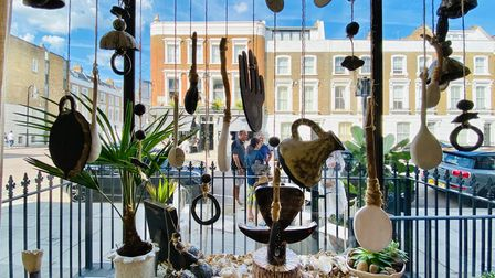 One of the displays in the 2020 Primrose Hill Art Trail