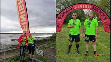 Harold Wood Running Club had four runners out at the Blackwater trail in Essex