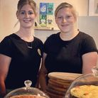 Coffee Bank owners Louise Jones, left, and Katie Kite