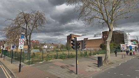a picture of the site in east ham